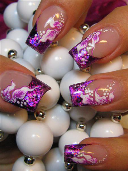 Дизайн ногтей фото цветы фото